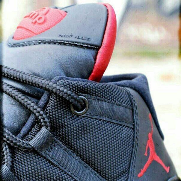"""Air Jordan XI Bred """"Playoff Pump"""" Custom By  Freakersneaks  807c04087dfd"""