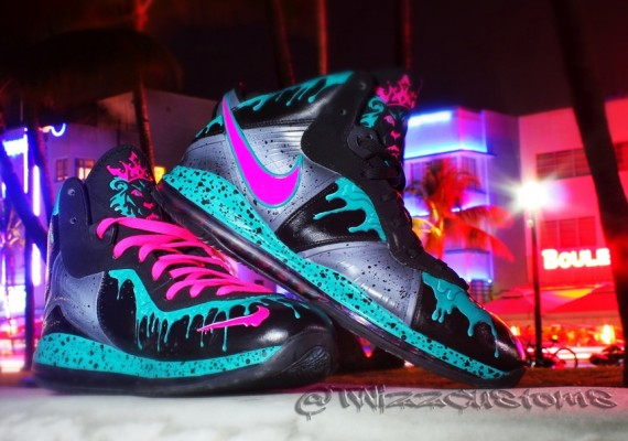 beaf1ec6c19c nike lebron 8 5 south beach custom by twizzcustoms