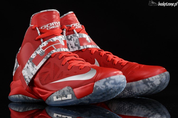 """9f840382833b Detailed Images  Nike LeBron Soldier VI """"Ohio State"""" Camo"""
