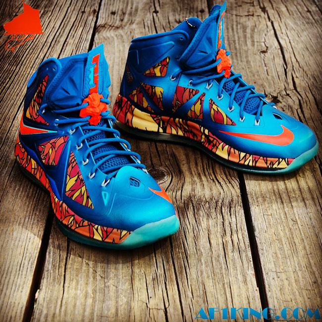 "9dfcab890d8 Nike LeBron X ""Orient Xpress"" Custom by  GourmetKic kz"