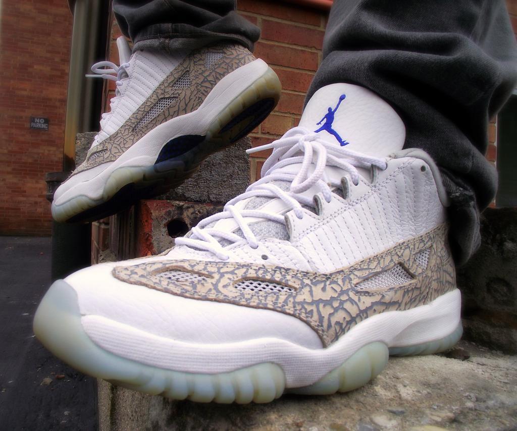 "e6cfdec7ac84 WDYWT –  mjow1999 Rockin The Air Jordan XI Low ""Snakeskin"""