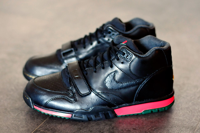 """promo code f4548 1565d Nike Air Trainer 1 Mid PRM QS – """"Draft Day"""" Gucci Inspired"""