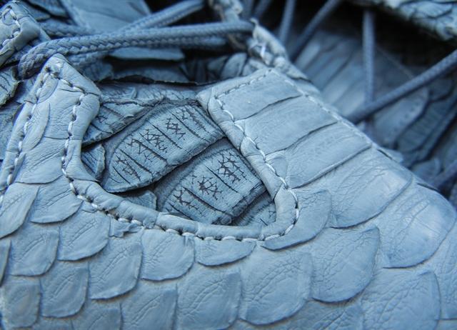 "innovative design 7058b 9e4d2 adidas Crazy 8 ""Python"" Customs for Iman Shumpert by Jbfcustoms  Kicks  Addict l The Official Sneaker Heads Online Magazine  Blog"