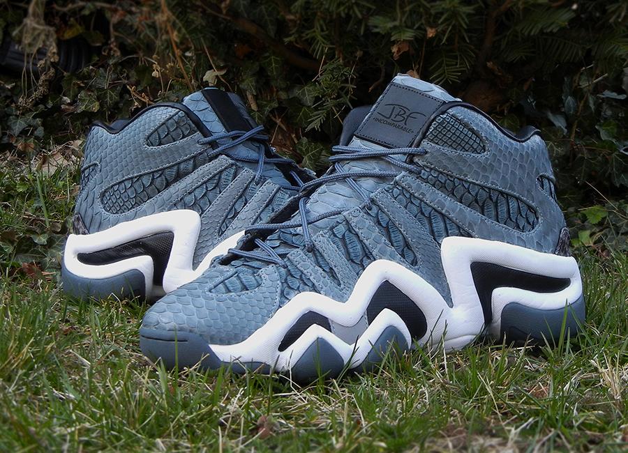 "official photos 9e39a aba5b adidas Crazy 8 ""Python"" Customs for Iman Shumpert by Jbfcustoms"