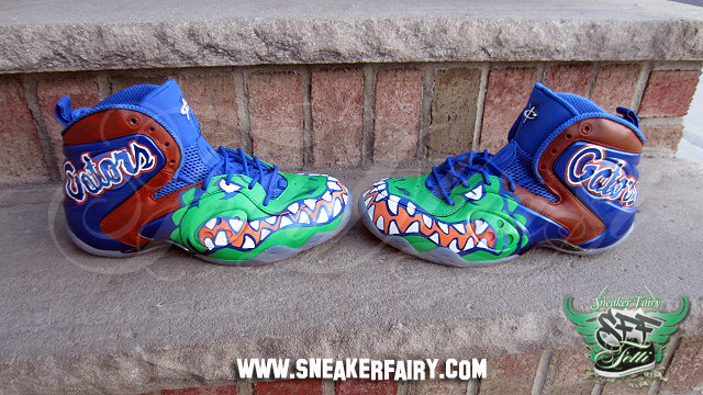 b88d1dd1bf8c96 The Florida Gators Zoom Rookie uses the Memphis Blues Zoom Rookie and has  the infamous gator logo adorning the front on the pair on both feet as if  to snap ...