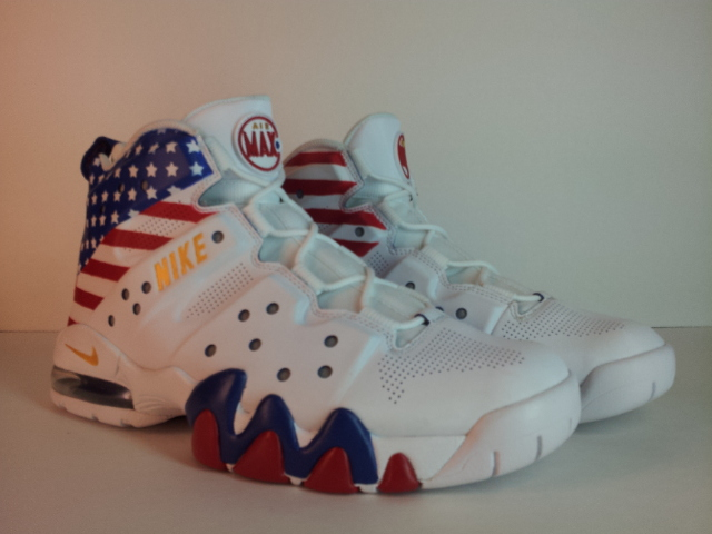 "4530edefda7 Nike Air Max Barkley ""Dream Team"" Custom By  MaseratiMalc504"