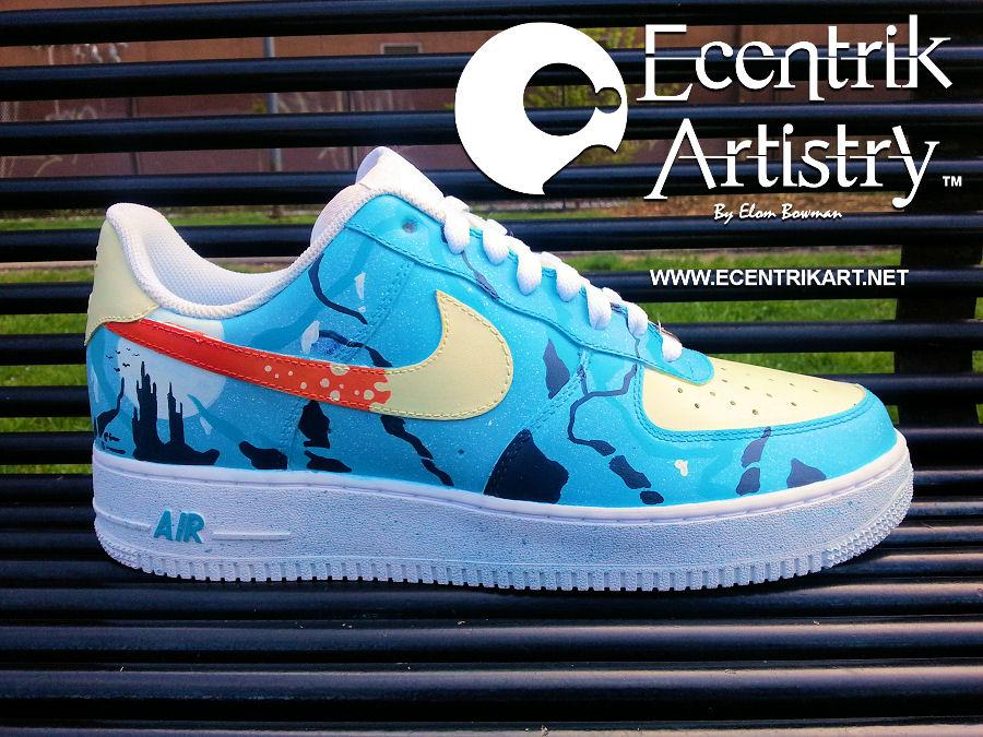 custom air force one shoes