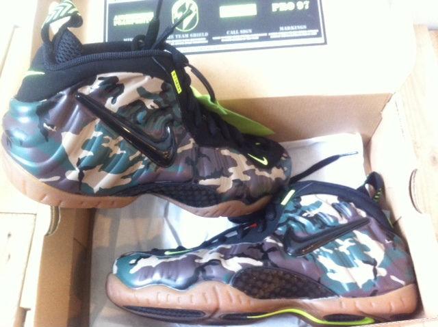 "online retailer 62f83 a8c6b Nike Air Foamposite Pro ""Army Camo"""