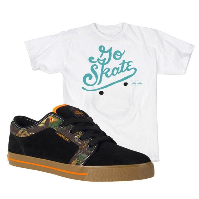 Go Skate Deck Tee + Gist Package