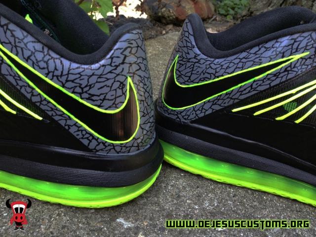 2721e8c4eba ... Nike Lebron X 10 Low Air Max Mens Basketball Shoe Size 10.5 Red Grey  Brand New kicksaddict9720694134094487790081812451163nlebron-x-112-customs -2lebron-x ...