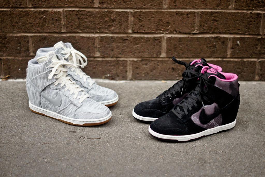 new arrival 65e14 93a16 Nike WMNS Dunk Sky Hi – Sail   Pink Print   Kicks Addict l The ...