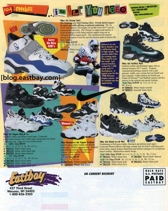 46388fc61a8ed Memory Lane    Nike Training 1996 By  Eastbay