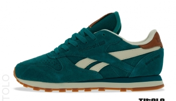 efed737bbc9e Reebok Classic Leather Suede - Teal Gem Paperwhite Brass