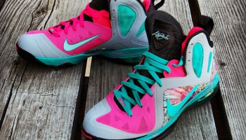best sneakers 7b0d7 dcd89 Nike LeBron 9 Elite