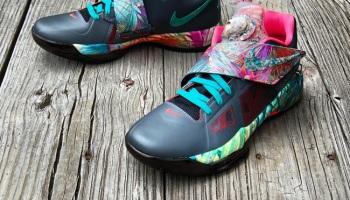 """120bc63d821ba Nike KD4 """"Kill Bill"""" Custom by  GourmetKic kz"""