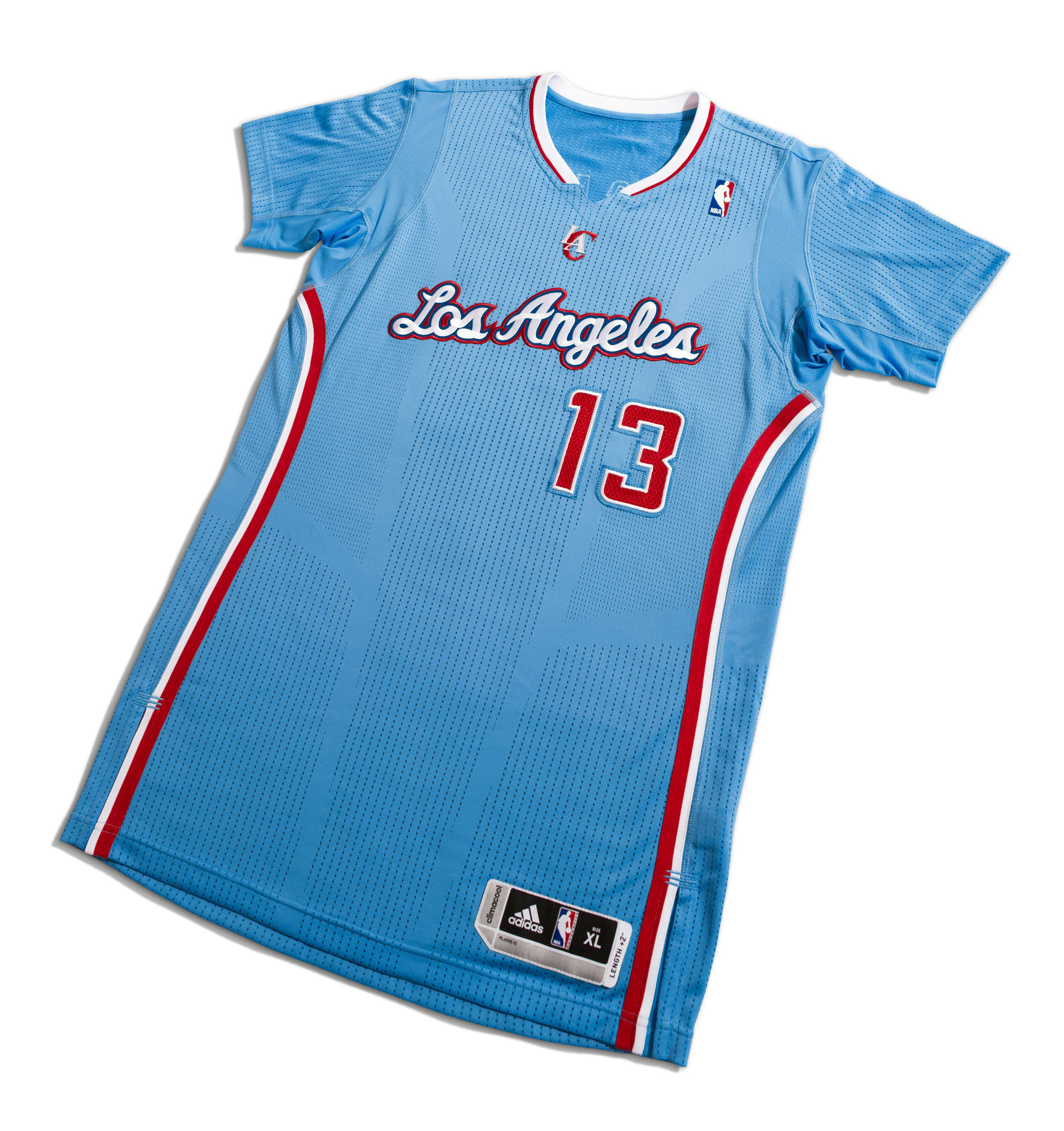 "328fea135 adidas   LA Clippers Unveil ""Back in Blue"" Uniform"