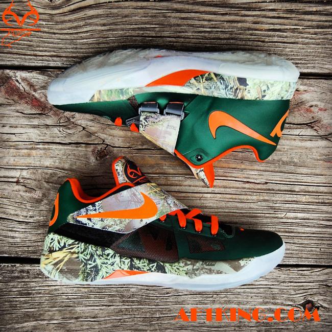 "Nike KD4 ""RealTree Camo"" Custom by  GourmetKic kz  3f555a22a"