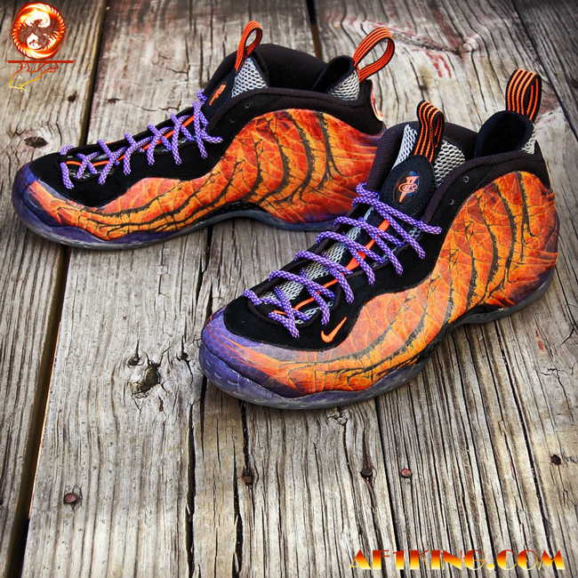 "best website a6d8c 46406 Nike Foamposite One ""Phoenix Rising"" Custom by  GourmetKic kz"