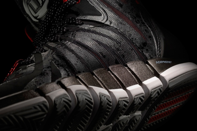 D Rose 4.5 Black, Detail 2, (G99355)