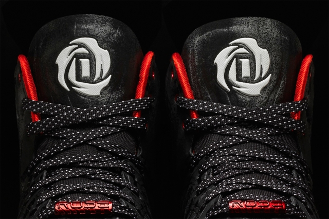 D Rose 4.5 Black, Detail 3, (G99355)