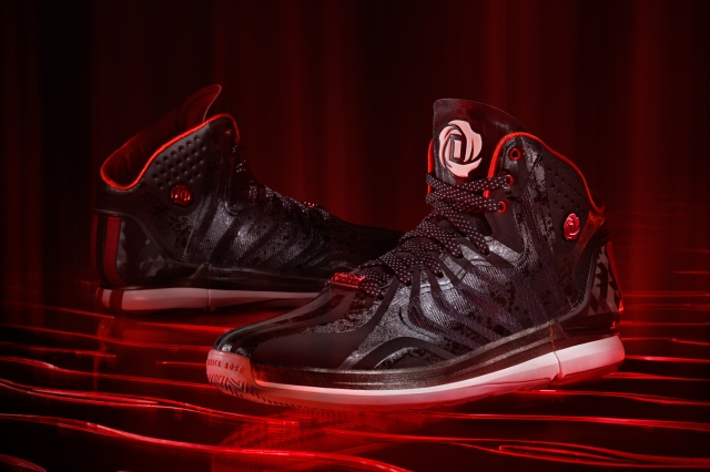 D Rose 4.5 Black, Hero 1, (G99355)