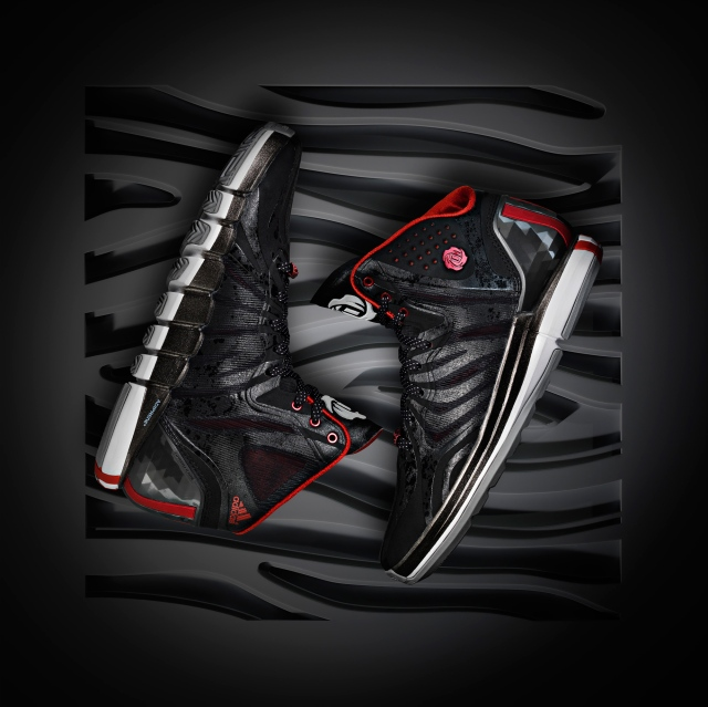 D Rose 4.5 Black, Hero 2, (G99355)