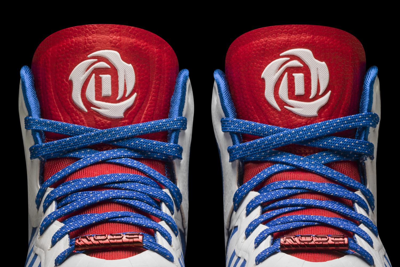 ... D Rose 4.5 white-navy-red Detail 3 (D74388) ... b14865e38