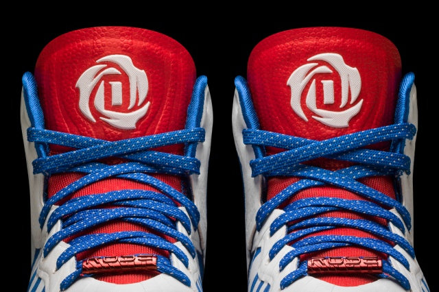 D Rose 4.5 white-navy-red Detail 3 (D74388)