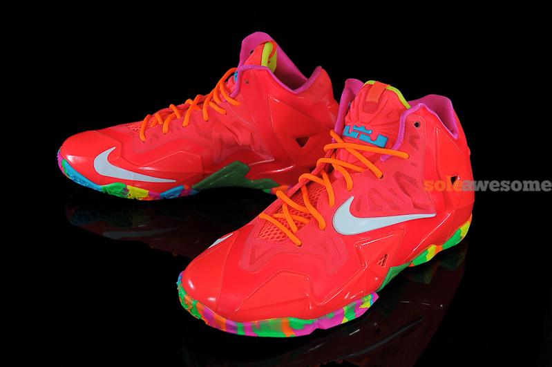"the latest 271ee 1a2c3 Nike Lebron XI GS ""Fruity Pebbles"""