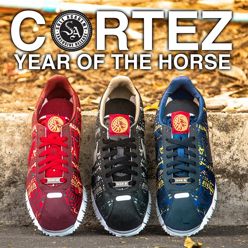 watch b32d3 7640a Nike Cortez Year Of The Horse Pack