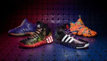 cheap for discount b70d5 cc7ca adidas NBA All-Star footwear collection