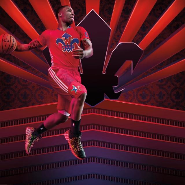 adidas NBA All-Star Damian Lillard 1
