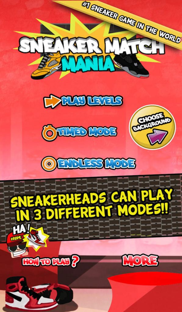 Sneaker Match Mania - Jordan Edition - 01 (iOS)