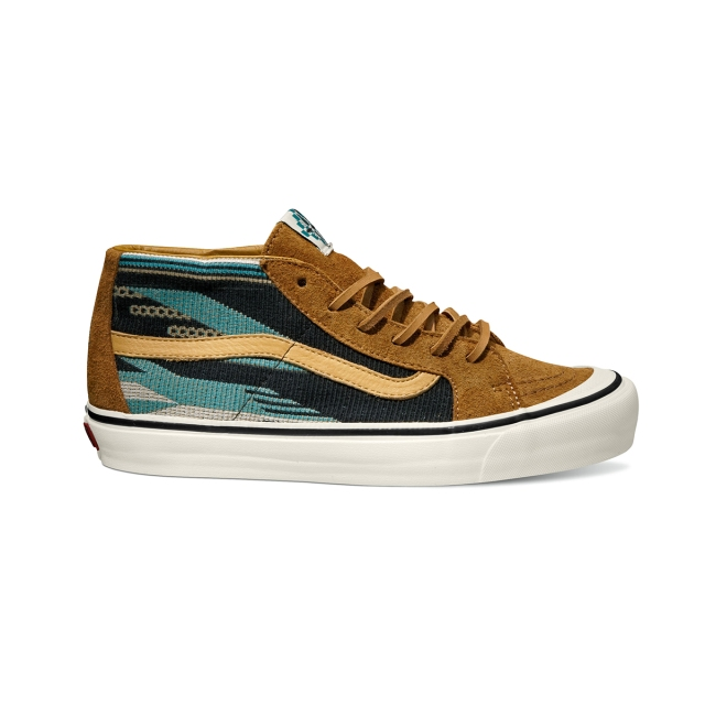 Vault by Vans x Taka Hayashi_TH Sk8-Mid LX_Chimayo_Golden Brown_Spring 2014