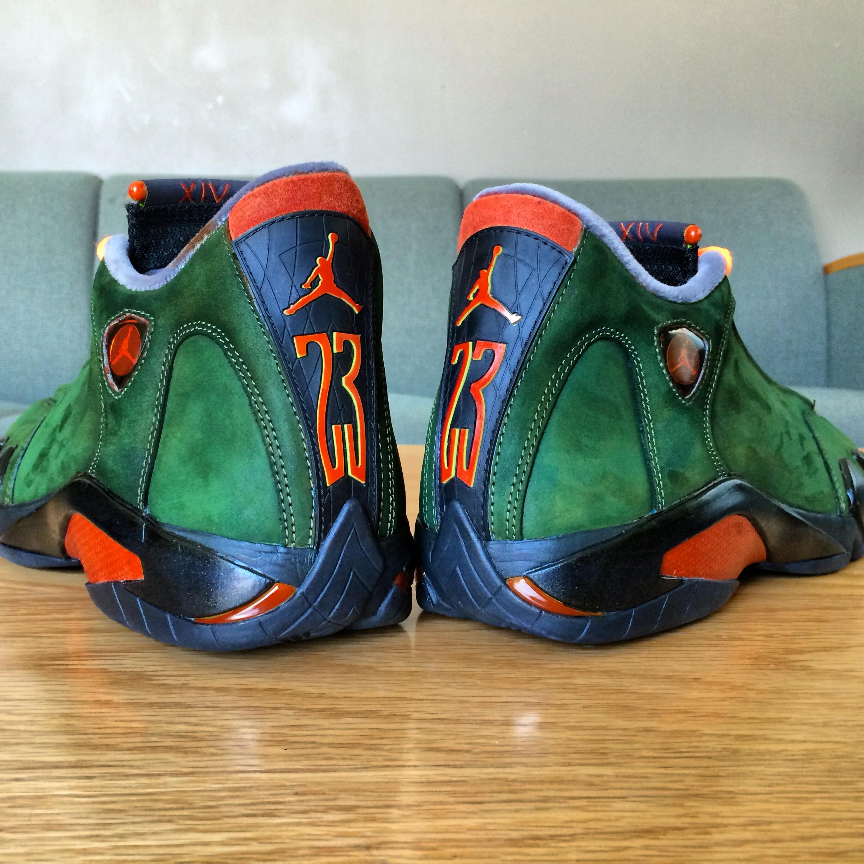 All Color E0d89 41c96 Air Jordan 14 UNDFTD Custom By Vabcustoms Kicks Addict